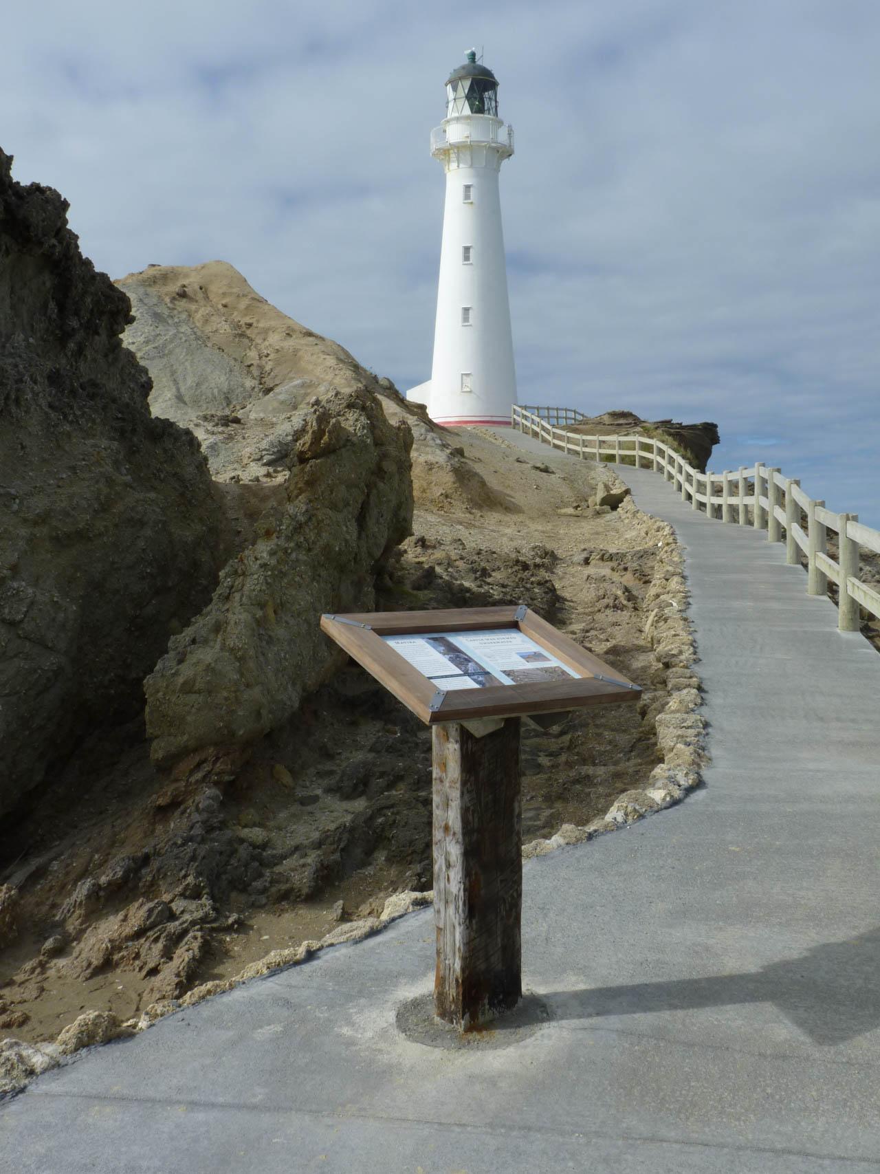 portfolio mikis Signage Castlepoint Lighthouse